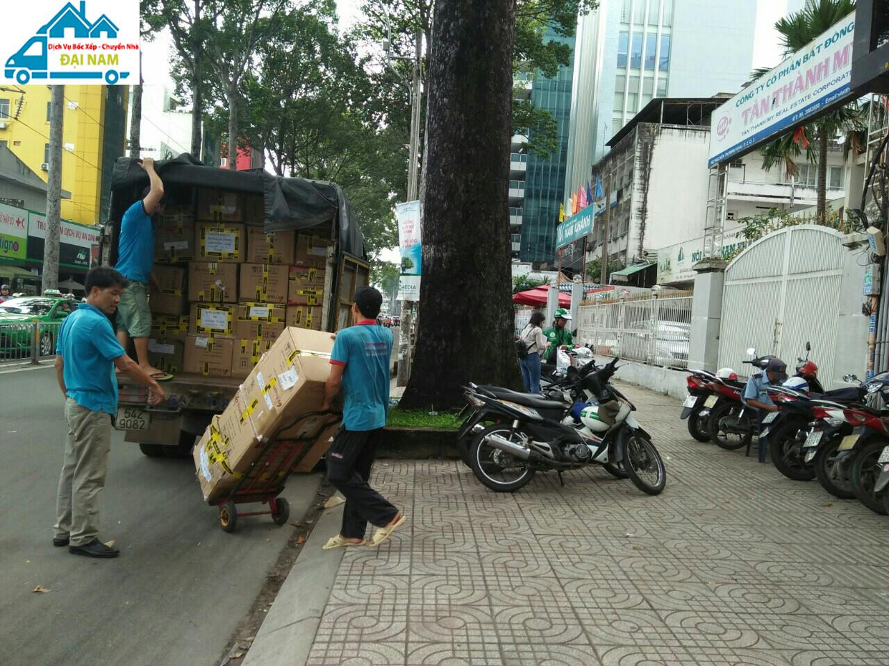 Dịch vụ chuyển nhà quận 12 trọn gói giá rẻ nhanh chóng