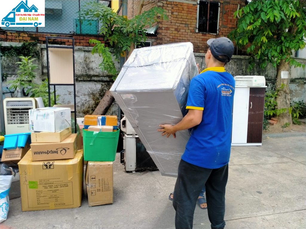 Dịch vụ chuyển nhà quận 3 trọn gói giá rẻ nhanh chóng