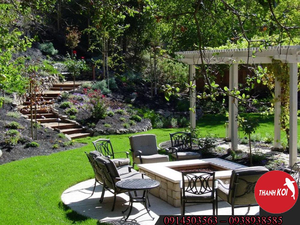 Công ty thiết kế tiểu cảnh sân vườn chuyên nghiệp uy tín tại Tphcm